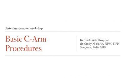 Basic C-Arm Procedures